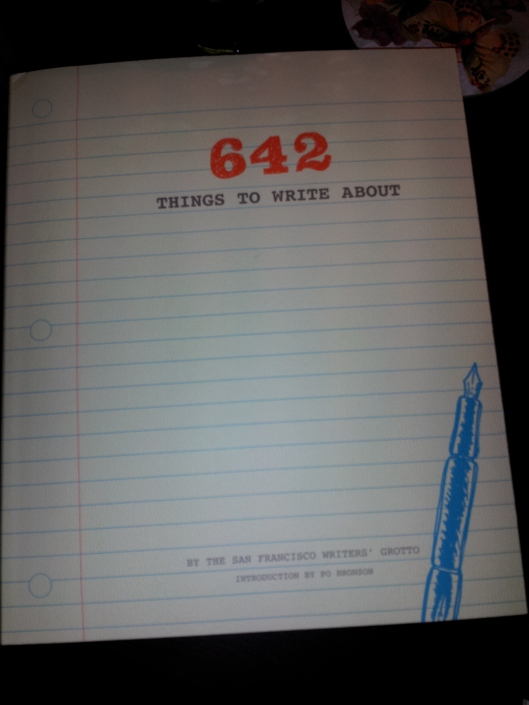 642 things to write about cover