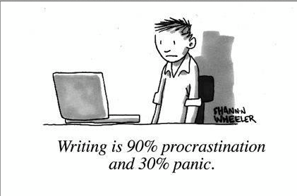 writing is procrastination