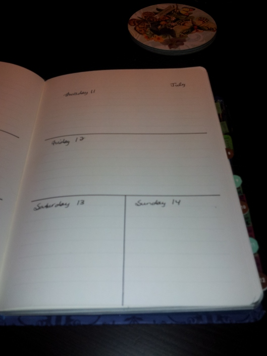 weekly page right