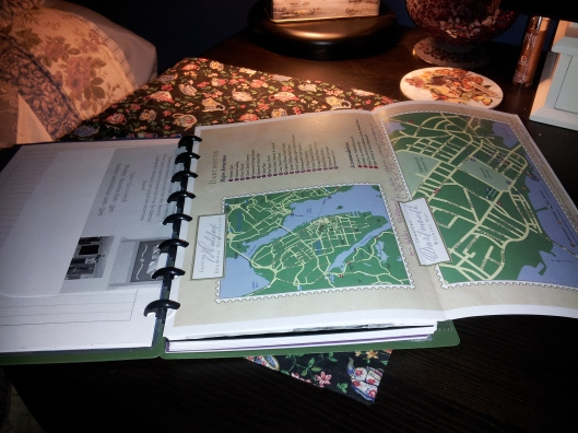 fold out maps