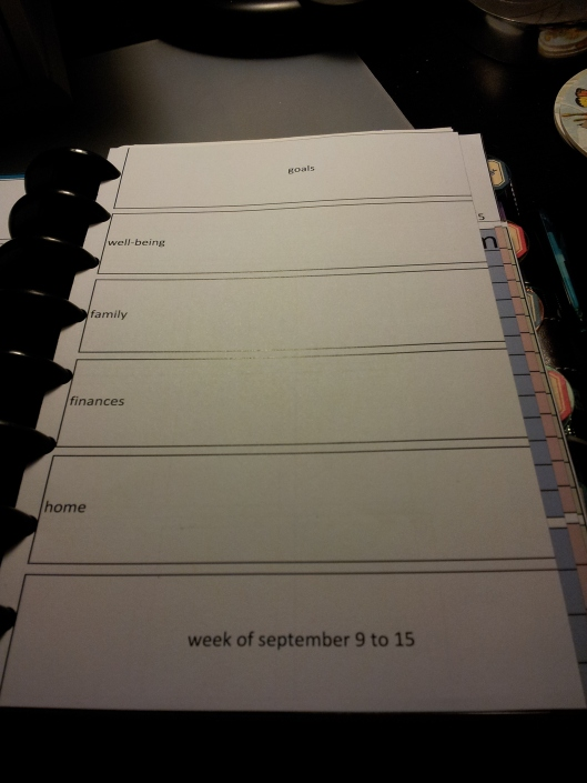 8. weekly pages