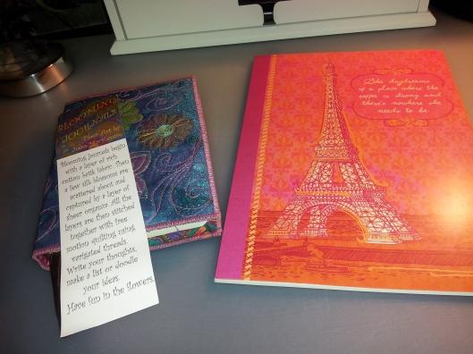 10 both journals plus bookmark