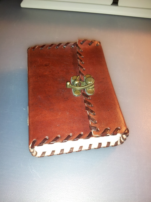12 handmade leather journal