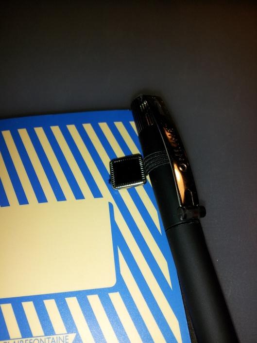 8 closeup of pen holder