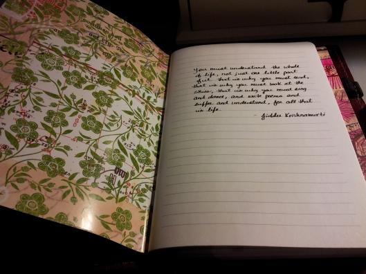 first notebook open