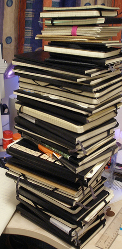 moleskine tower