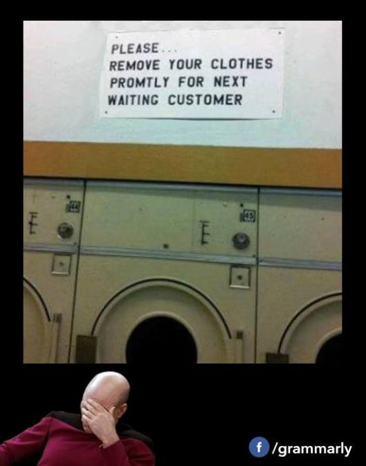 remove your clothes
