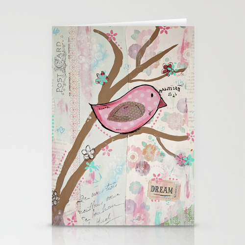 anna brim's pink dream bird