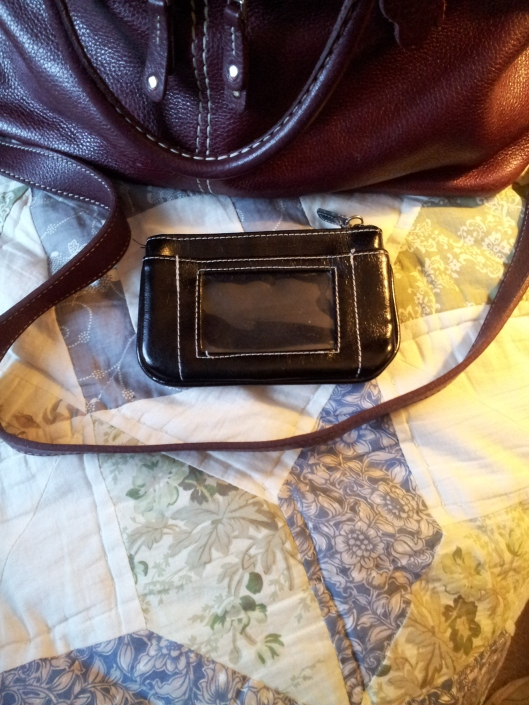 black change purse