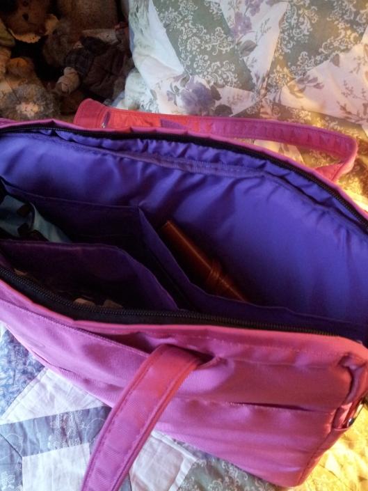 inside laptop bag