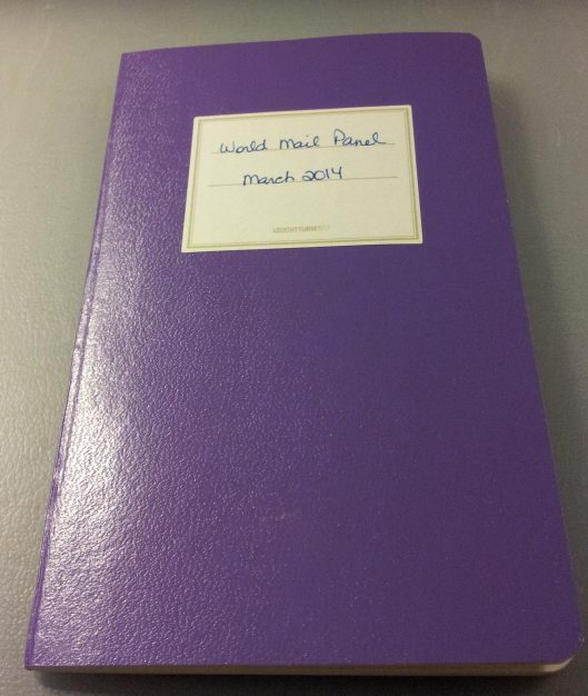 purple jott book
