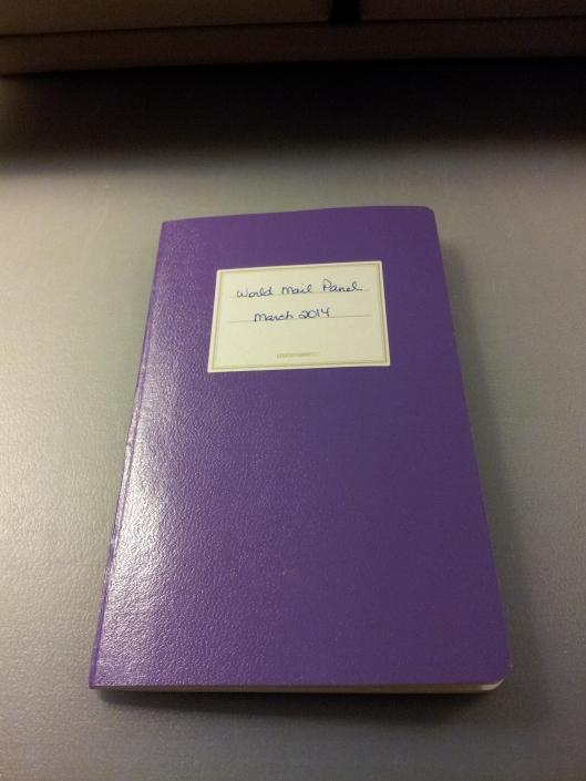 purple jott book