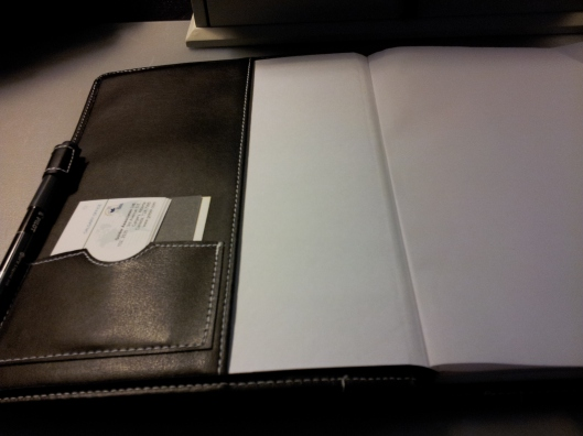 inside cover leather portfolio