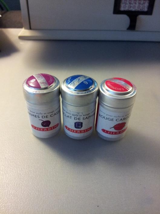 3 j herbin tins