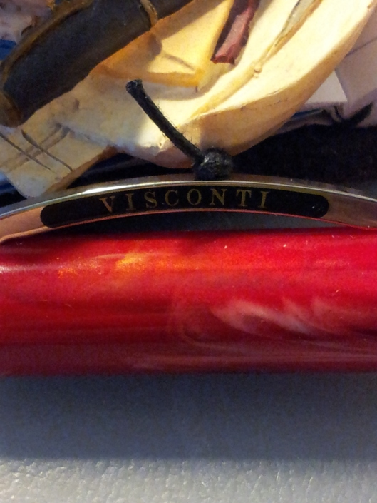 close up of visconti on cap