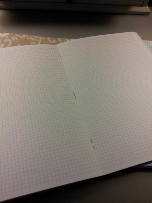 stapled binding