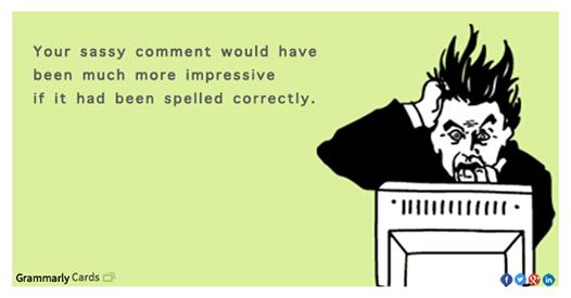 sassy comment
