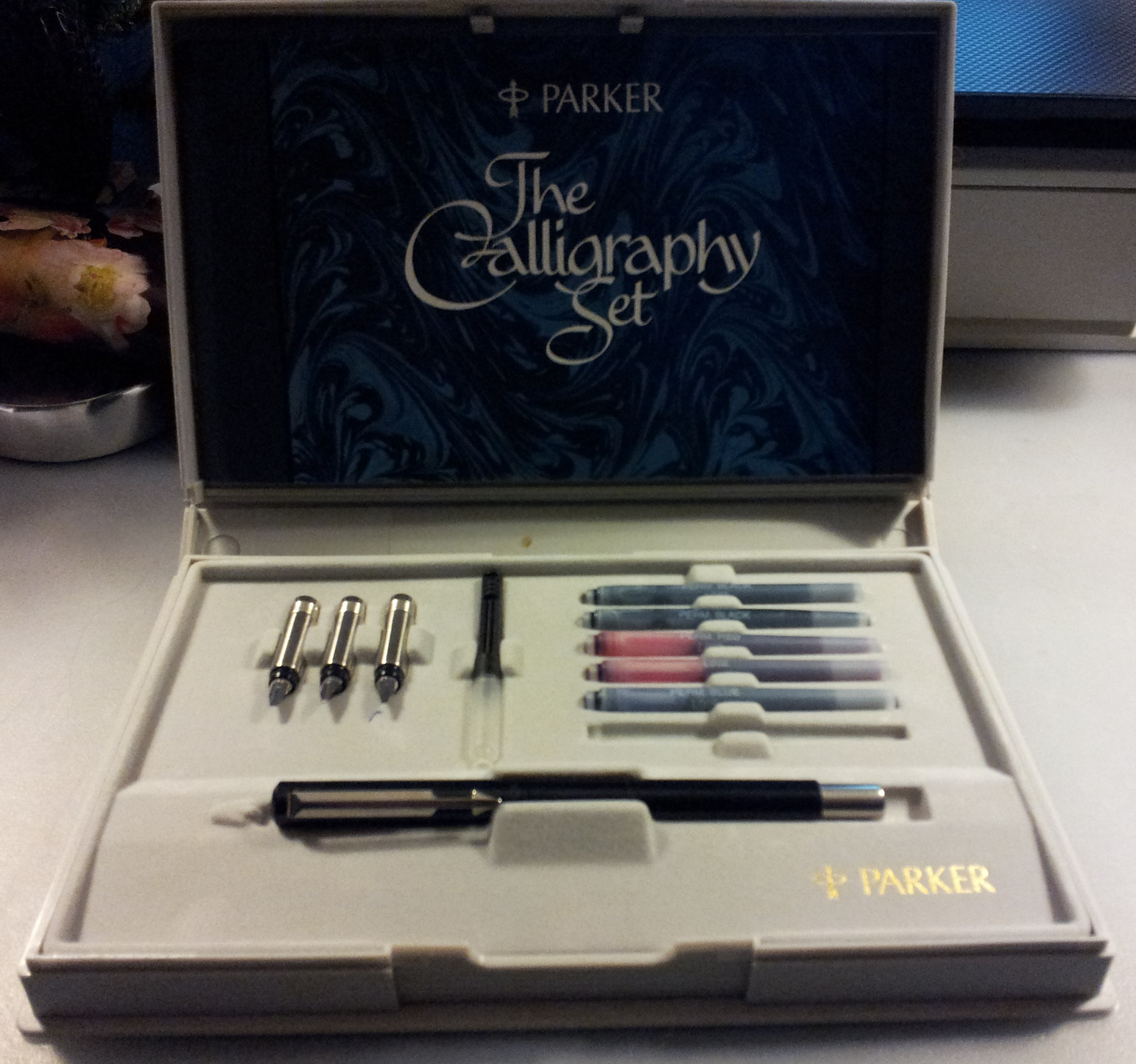 Parker Vector Calligraphy Set Inlovewithjournals