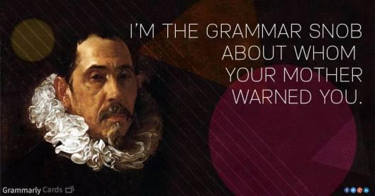 grammar snob
