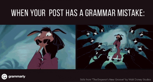 post has a grammar mistake