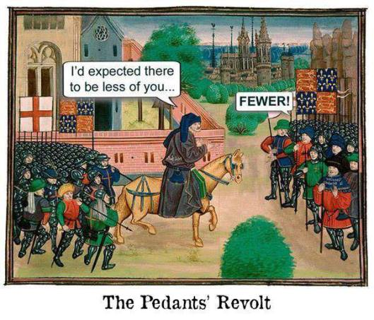 pedants revolt