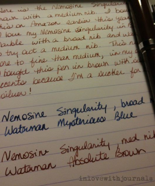 nemosine writing sample