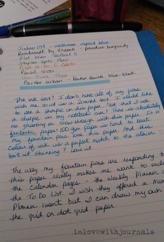 w hannah writing